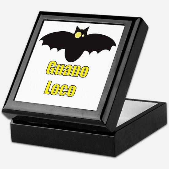 Guano Loco Bat Keepsake Box
