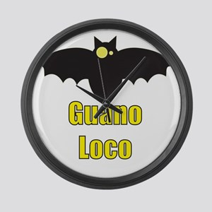 Guano Loco Bat Large Wall Clock