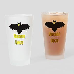 Guano Loco Bat Drinking Glass