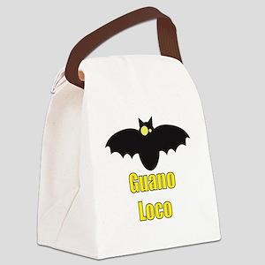 Guano Loco Bat Canvas Lunch Bag