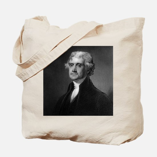 Thomas Jefferson by HB Hall after G Stuar Tote Bag