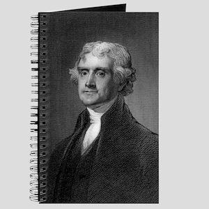 Thomas Jefferson by HB Hall after G Stuart Journal