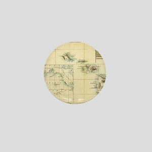 Map of Hawaii by London Longman  Co -  Mini Button
