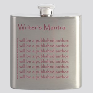 Writers Mantra Magenta_edited-1 Flask