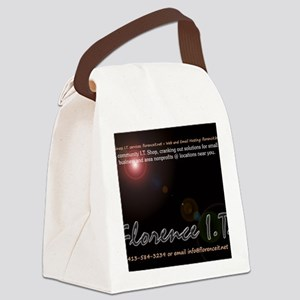 mouse2 Canvas Lunch Bag
