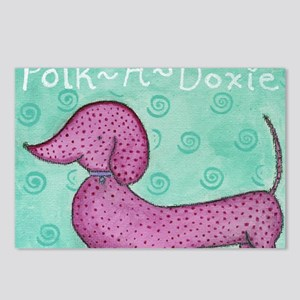 Polk-a-Doxie Mousepad Postcards (Package of 8)