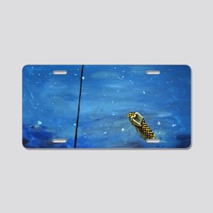 charlies shoe for prints Aluminum License Plate