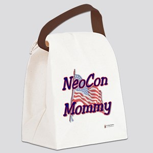 neocon mommy 2 Canvas Lunch Bag