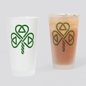 shamroc1_Dark Drinking Glass