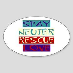 SNRL Oval Sticker