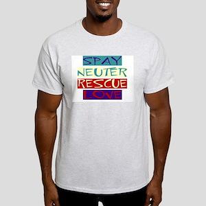 SNRL Ash Grey T-Shirt