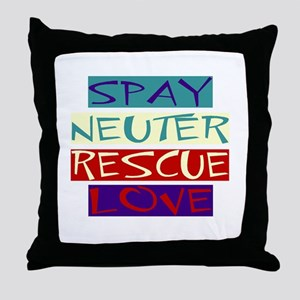 SNRL Throw Pillow