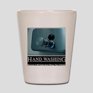 hand-washing-humor-infection-lg3 Shot Glass