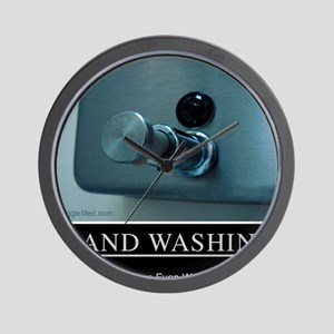 hand-washing-humor-infection-lg3 Wall Clock