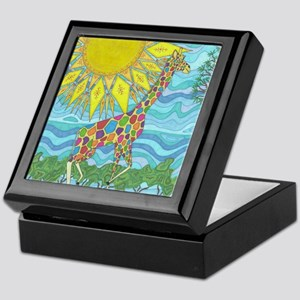 African Rainbow Keepsake Box