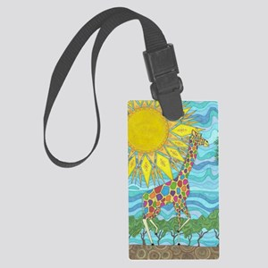 African Rainbow Large Luggage Tag