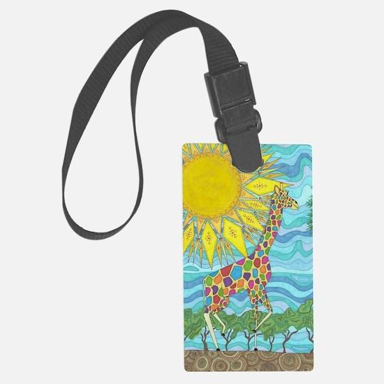 African Rainbow Luggage Tag