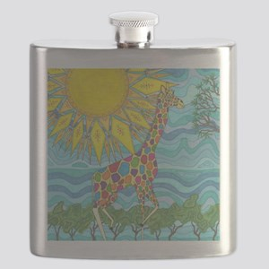 African Rainbow Flask
