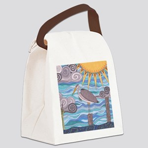 Herons Watch Canvas Lunch Bag