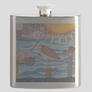 Herons Watch Flask