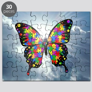 autismbutterfly - sky 6inch Puzzle