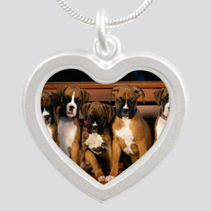 blanket9 Silver Heart Necklace