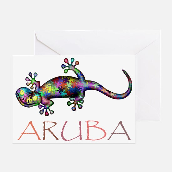 Aruba Greeting Card
