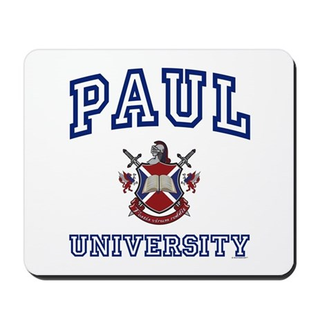 PAUL University Mousepad