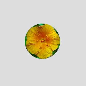 Bermuda Hibiscus Mini Button