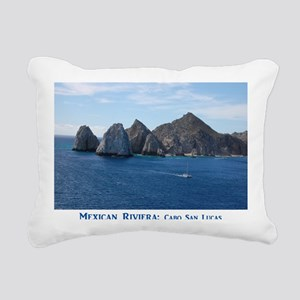 Mexico Calendar Cover Rectangular Canvas Pillow