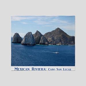 Mexico Calendar Cover Throw Blanket