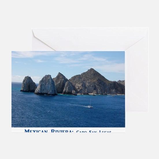 Mexico Calendar Cover Greeting Card