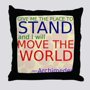 Archimedes1 Throw Pillow