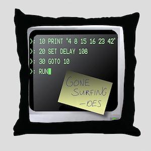 program2 copy Throw Pillow