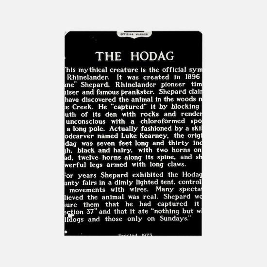 Hodag Historical Marker Rectangle Magnet