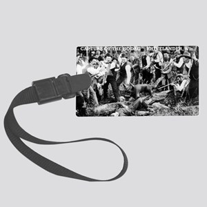 Capture of the Hodag Large Luggage Tag