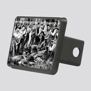 Capture of the Hodag Rectangular Hitch Cover