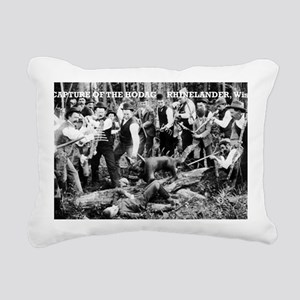 Capture of the Hodag Rectangular Canvas Pillow
