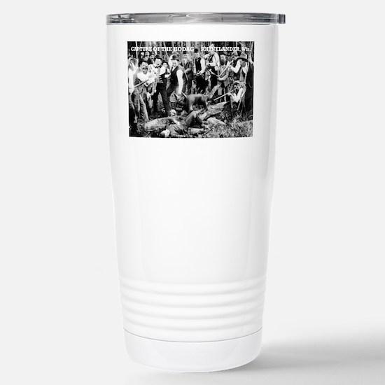Capture of the Hodag Stainless Steel Travel Mug