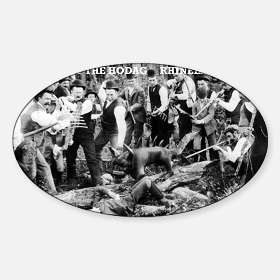 Capture of the Hodag Sticker (Oval)