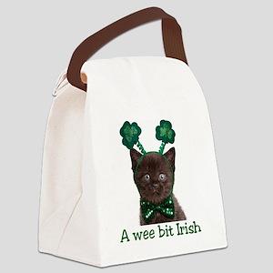 shamrock_t Canvas Lunch Bag