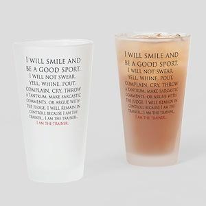 IAmTheTrainer Drinking Glass