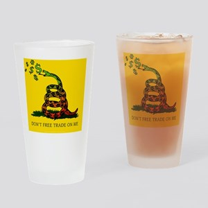 JG_Gadsden_flag Drinking Glass