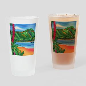 DiamondHeadSquare Drinking Glass