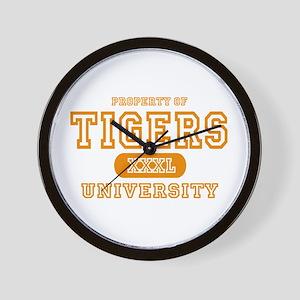 Tigers University Wall Clock