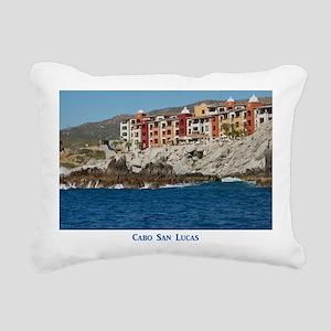 Mexico C3 Rectangular Canvas Pillow