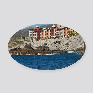 Mexico C3 Oval Car Magnet