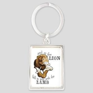 LionLamb Portrait Keychain