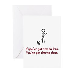 Time to Lean Greeting Cards (Pk of 10)