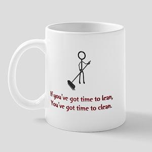 Time to Lean Mug